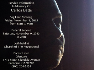 Carlos Batts Service Information